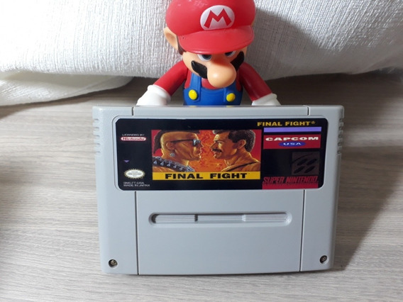Cartucho De Super Nintendo Final Fighter