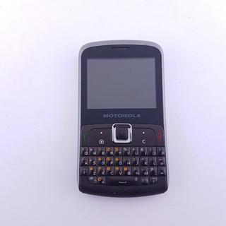 Celular Motorola Ex 115 Dual Chip Conservado (funcionando)