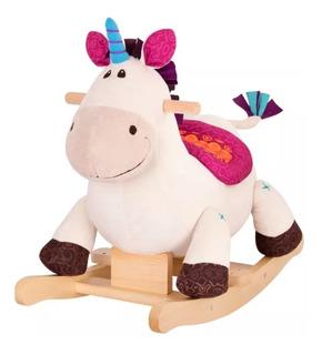 Unicornio De Felpa Mecedora Para Niños
