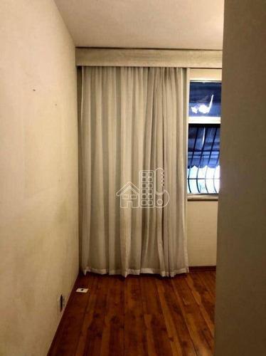 Apartamento Com 3 Dormitórios À Venda, 110 M² Por R$ 660.000,00 - Icaraí - Niterói/rj - Ap4090