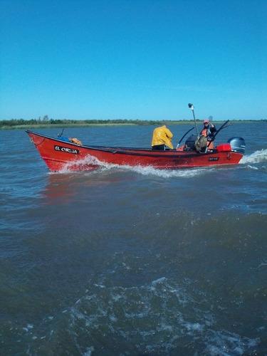 Barca Pezca Artesana 6.80 Mts.  Documentacion.  Solo Casco