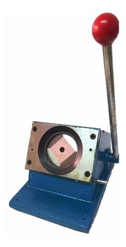 Cortadora Troquelador Boton 5x5 Guillotina Circular Corte