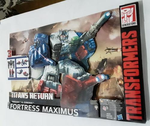 Diorama Transformers Titans Return