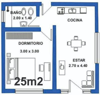 Vivienda Prefabricada 25m2 Entregas En Todo El Pais