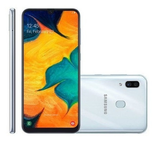 Smartphone Galaxy A30, 64 Gb, 16mp + 5mp, 4g, Dual Chip, Bra