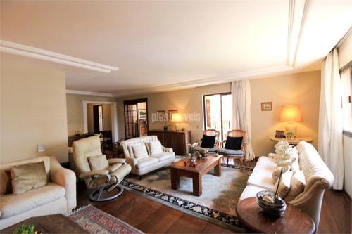 Amplo Apartamento Em Moema - Pj50009