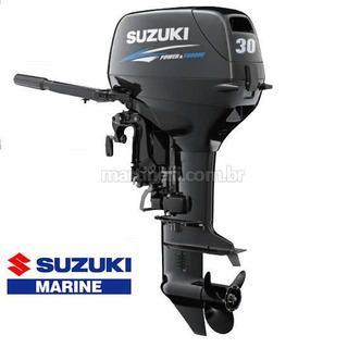 Motor De Popa Suzuki 30 Hp 2t Elétrico