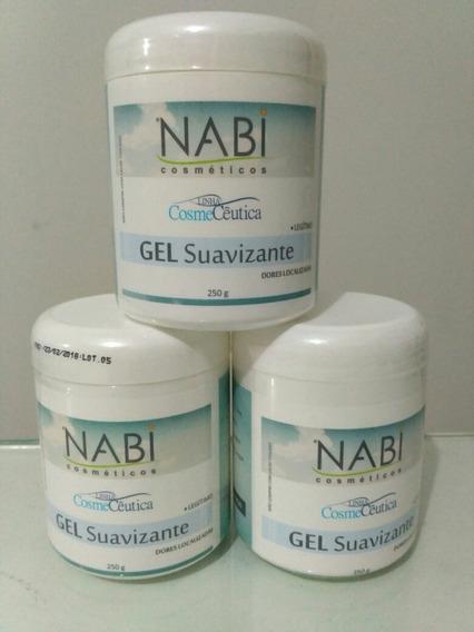Gel Nabi 6 Un Gel Suavizante 250g Original Nabi Cosméticos®