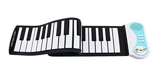 Teclado Piano Musical Infantil Flexivel Portatil