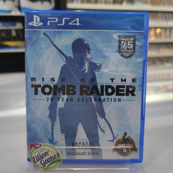 Rise Of The Tomb Raider Sony Ps4 Completo