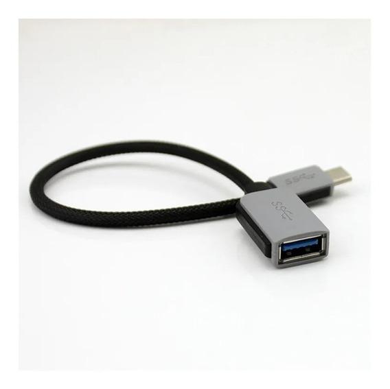 Otg Usb 3.1 Tipo C P/ Usb 3.0 Femea - Adaptador Otg Macbook