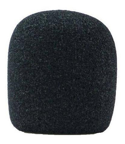 Espuma Para Microfone De Mão E Similares Sm58 Preto C/ Nf