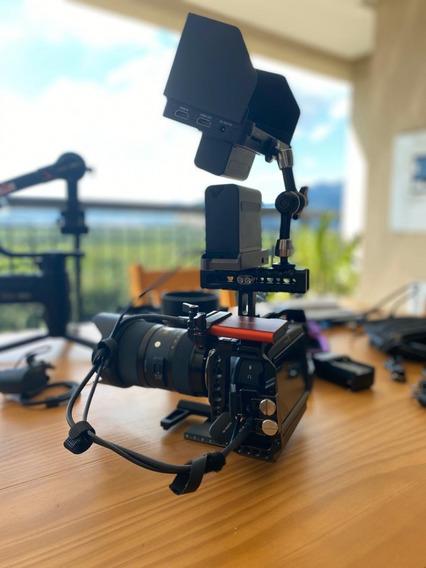 Câmera Blackmagic Pocket 4k Cinema Rig Completo Novo