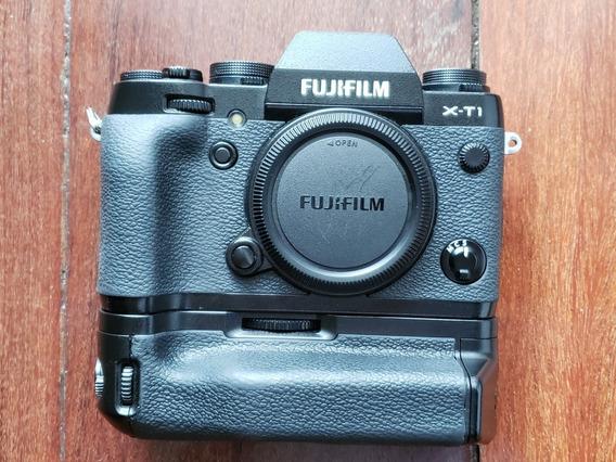 Fuji Xt-1 Com Grip Usada