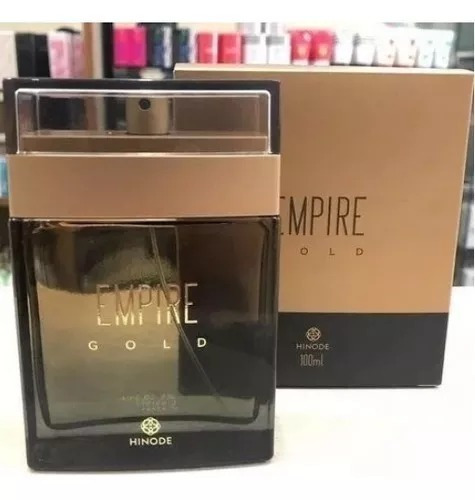 Deo Colonia Empire Gold Perfume Hinode + Frete Grátis.