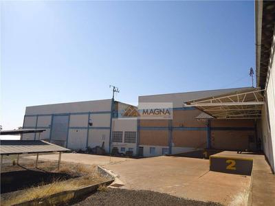 Galpão Comercial Para Venda E Locação, Parque Industrial Lagoinha, Ribeirão Preto - Ga0017. - Ga0017