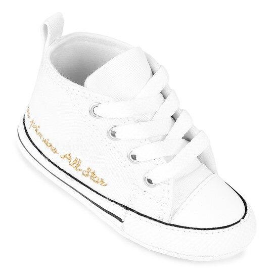 Tênis Meu Primeiro All Star Kids Branco Ck04400003 Original