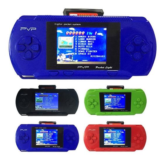 Mini Vídeo Game Portátil Pve Retrô E Jogos P3000