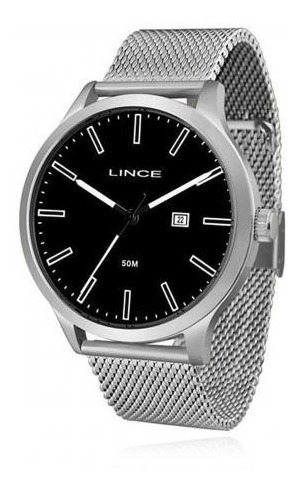 Relógio Lince Masc. Mrm4494s P1sx - Original Com Nota Fiscal