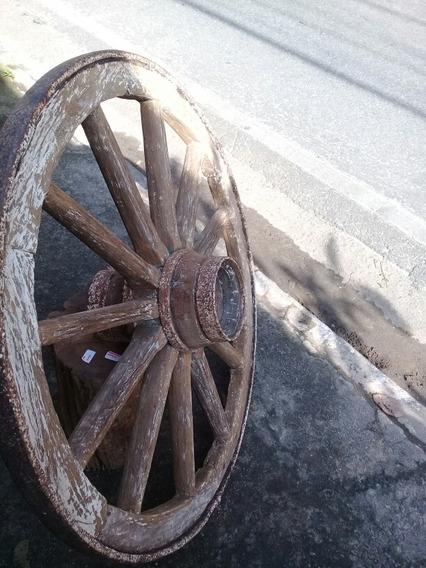 Roda Antiga Carro De Boi
