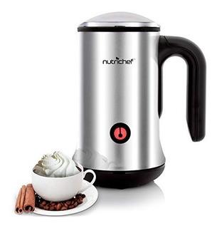 Nutrichef Espumador De Leche 2 En 1 Chocolatera Cafe Latte