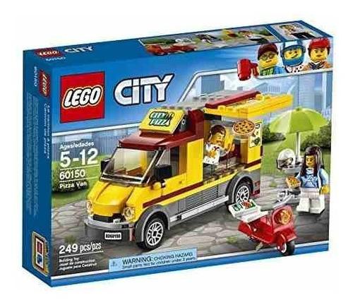 Lego City Great Vehicles Pizza Van 60150 Juguete De Construc