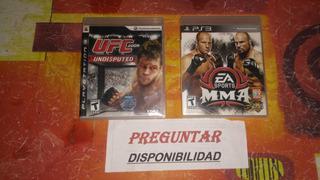 Ufc Y Mma Ps3