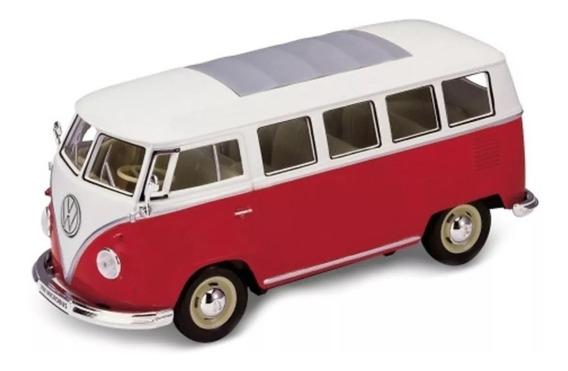 Volkswagen Bus T1 1963, Welly, Escala 1:24-27