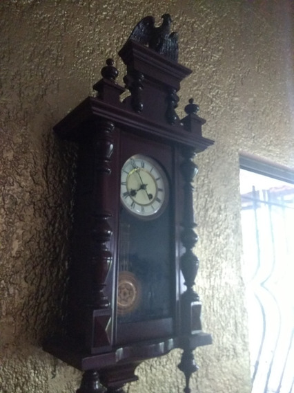 Reloj De Pared Péndulo Antiguo Lucca