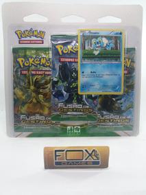 Brin Pokemon Xy10 Blister Triplo Fusao De Destino (froakie)