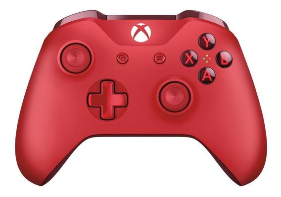 Controle joystick Microsoft Xbox One red