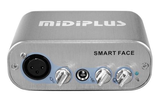Interfaz De Audio Midiplus Smart Face