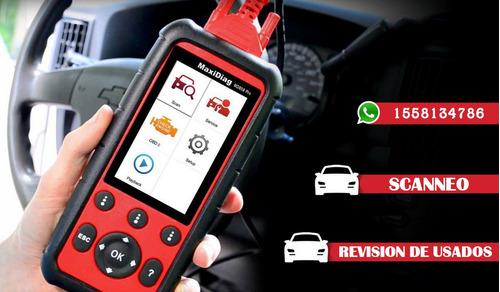 Imagen 1 de 10 de Revisión Precompra Autos Usados Scanneo Chequeo Verificar Km