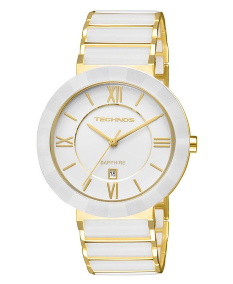 Relógio Technos Saphire Elegance Ceramic Feminino 2015bv