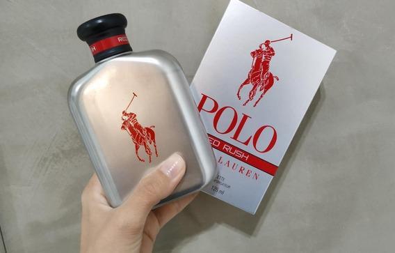 Perfume Masc. Ralph Lauren Red Rush 125ml Borrifado 2 Vezes