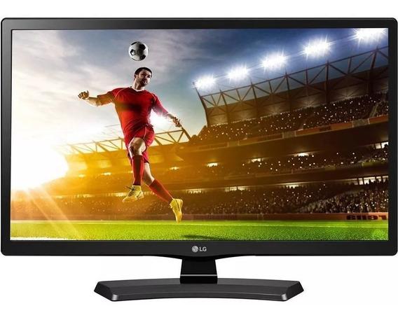 Tv Led LG Hd 19,5 Pol 20mt49df-ps Conversor Digital