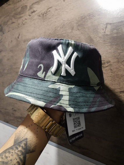 Boné Chapéu Bucket Hat New York