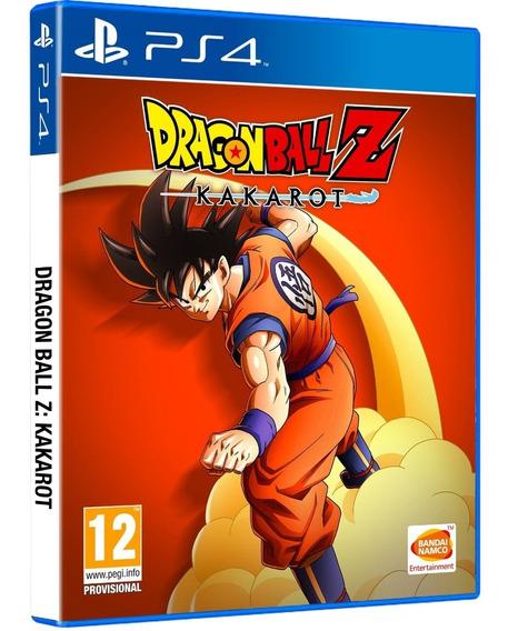 Dragon Ball Z Kakarot Ps4 Disco Fisico Lacrado Português Br