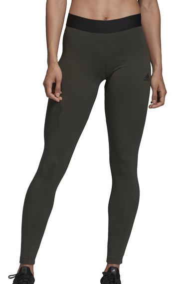 Calza adidas Training W Asymmetrical Mujer Mi/ng