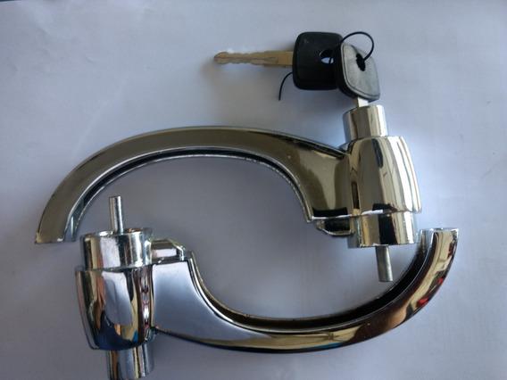 2 Maçanet Externa Porta A10 C10 D10 Veraneio /84 Cromada