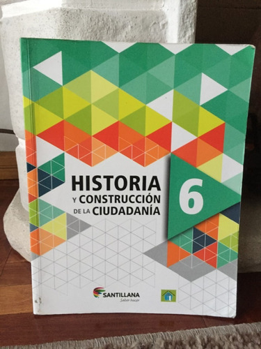 Pack Ciencias Sociales 6° Historia,geografia Santillana