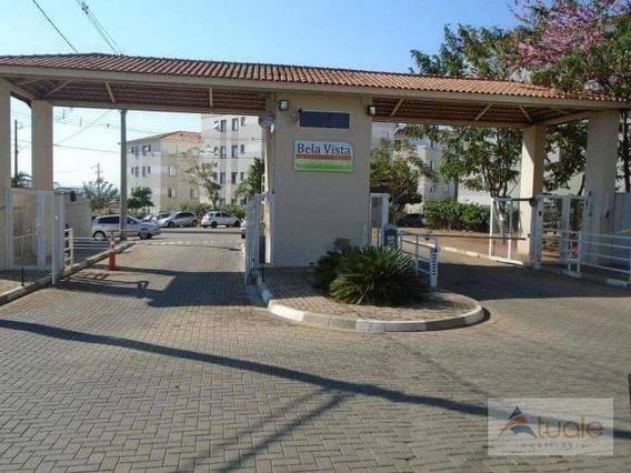 Apartamento Com 2 Dormitórios À Venda, 48 M² Por R$ 185.000 - Condomínio Bela Vista Varandas - Sumaré/sp - Ap6788