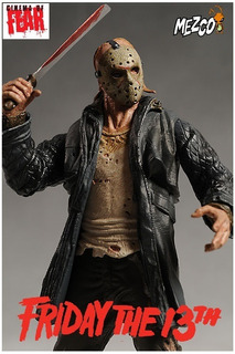 Jason Voorhees: Friday The 13. Mezco: Cinema Of Fear. 2009.