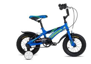 Bicicleta Topmega Speedmike Rodado 12 Infantil Niño Rueditas
