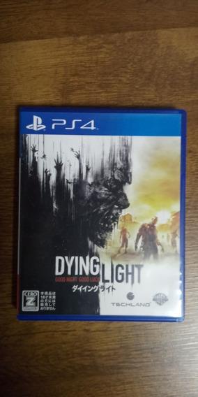Jogo Dying Light Ps4 Mídia Física Japonês/inglês