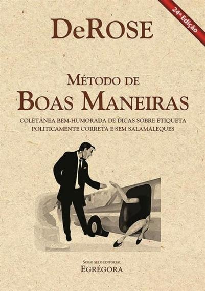 Metodo De Boas Maneiras - 24ª Ed.