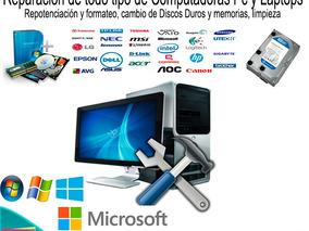 Servicio Técnico Domicilio Computación, Redes Y Cctv