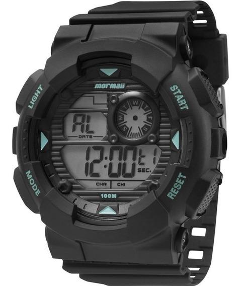 Relógio Mormaii Masculino Mo3415/8a, C/ Garantia E Nf
