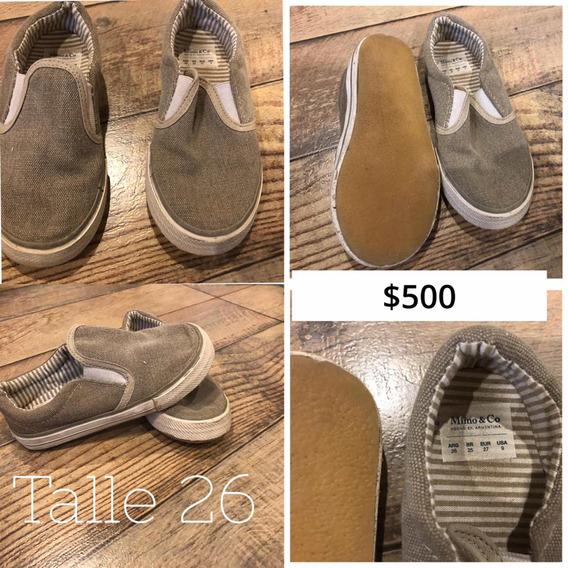Zapatillas Para Niñ@s Usadas Y Muy Buen Estado!!