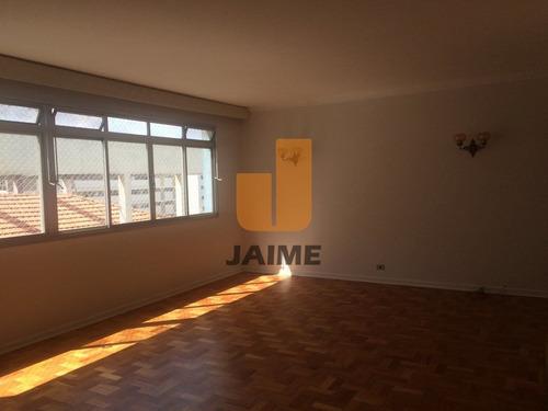 Apartamento Para Locação No Bairro Higienópolis Em São Paulo - Cod: Ja5975 - Ja5975